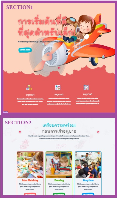 readyweb section